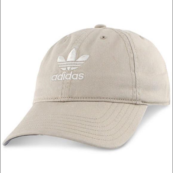 best nice cheap closer at NWOT Adidas beige baseball hat